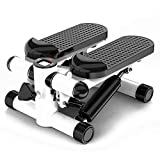 cscd Stepper Fitness Pedal Exercise Machine de Portable avec Resistance Bands Multifonctions Silencieux Swing Twister d'appartement