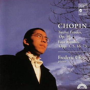 Chopin: Twelve Etudes, Op. 10 & Four Rondos, Opp. 1, 5, 16, 73