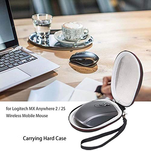 Maus Taschen Eva Schwer Reise Tragetasche for Logitech MX Anywhere-2 / 2S Wireless Mobile Mouse Travel Bag