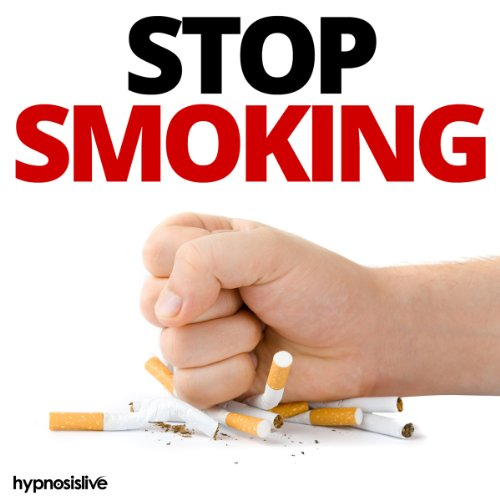 Stop Smoking Hypnosis audiobook cover art