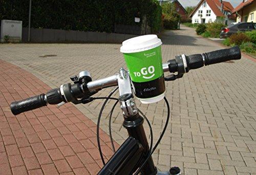 Electra Bicycle Fahrrad Kaffee Becher Halter Halterung Schwarz Cup Holder Lenker, 368779