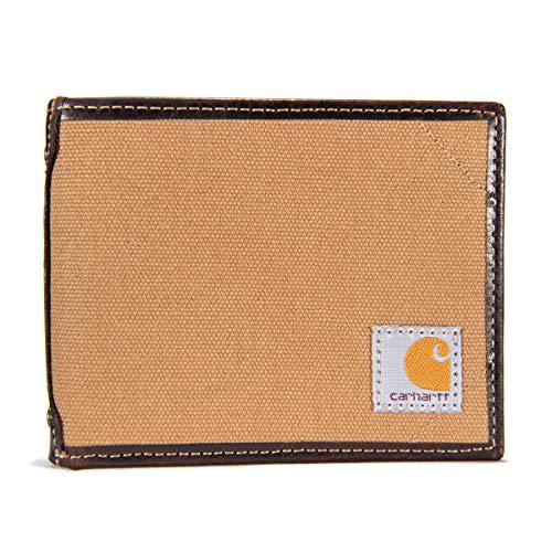 Carhartt Men's Billfold Wallet, Canvas Brown, One Size
