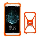 Lankashi Orange Stand Ring Holder Design Soft Silicone