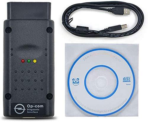 Interfaz OP-COM, Herramienta de Diagnóstico de Escáner de Lector de Código para OPEL Vauxhall OBD2 Vectra-c Astra-h Zafira-b