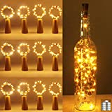 luz de Botella, Kolpop luz Corcho, luces led para Botellas de Vino 2m 20 LED a Pilas Decorativas...