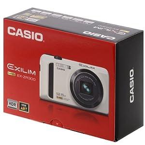 Casio High Speed Exilim Ex-zr300 Digital Camera RED Ex-zr300rd