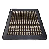 Queen Size (74' x 59') Infrared Heat Therapy Healing Jade Mat/Pad with two temperature controllers Mat150