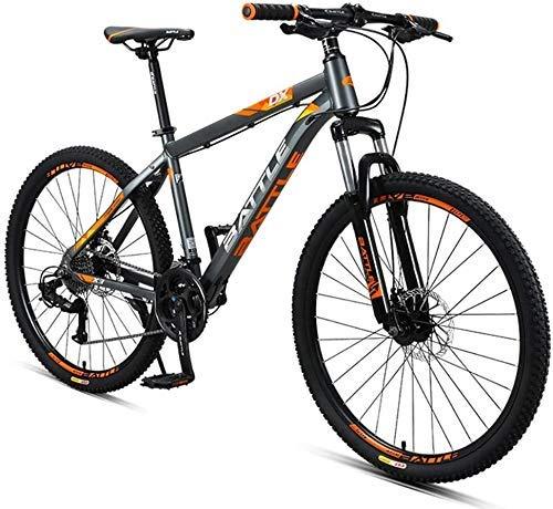 26 pulgadas bicicleta de montaña, bicicleta de montaña mujeres de los hombres de 27 velocidades, con doble disco patín todo terreno bicicleta de montaña LQH
