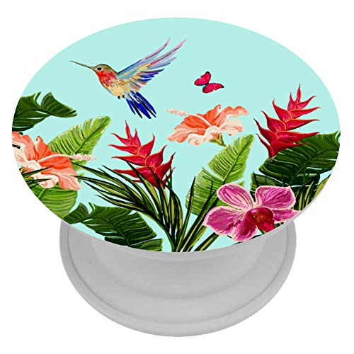 OKONE Inklapbare Grip & Stand voor telefoons en tablets Vogels Vlinders Bloemen Telefoon Grip Houder & Ondersteuning, Smartphone Accessoires