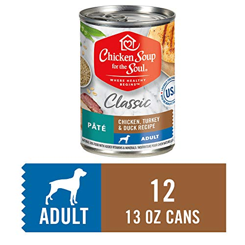Chicken Soup for the Soul Adult Dog Food, New Recipe (12 13oz Cans)