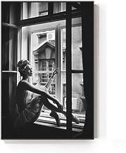 cptbtptp Resumen Guerra Mundial Vela Solitaria Ballet niña Lienzo Pintura Moda Arte Foto de Pared para Sala de Estar Nordic posters40x60cm