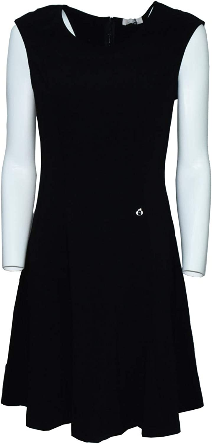 black GIARDINI woman dress P865080D   100 44 black