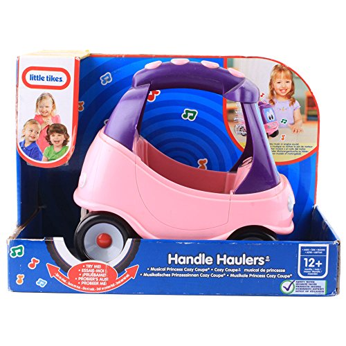 Little Tikes - 617645E5C - Jouet de Premier Age - Handle haulers - Rose/Violet