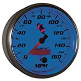 Auto Meter 7289 C2 5' 160 mph In-Dash Electric Programmable Speedometer