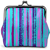 Coin Purse Metal Lock Purse,Kiss and Buckle Change Purse Handbag Fluorescent Fringes