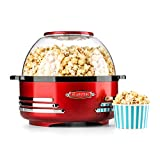 Klarstein Couchpotato - Macchina popcorn, Disegno retroilluminato 50, 5,2 litri che serve ciotola e...