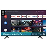 Hisense 65-Inch Class H6570G 4K Ultra HD Android Smart TV with Alexa Compatibility (65H6570G, 2020 Model)