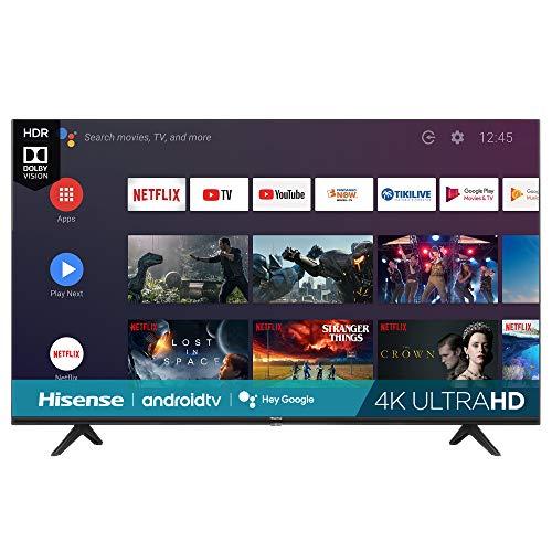 Hisense 65-Inch Class H6570G 4K UHD Android Smart TV