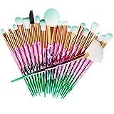 Sharpy 20 Unids/Set Set de Pinceles de Maquillaje Pinceles de Sombra de Ojos Kit de Herramientas de Pincel Cosmético de Belleza Sets de brochas