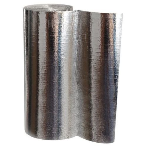 Heizkörper Reflexionsfolie Alu/Polystyrol, Styropol 3 mm (0,5m x 5m)