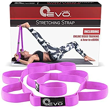 Yoga Stretch Bands - Hamstring Stretcher