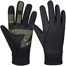 Mens Winter Bike Gloves Windproof Water Resistant Hands Warm in Cold Weather Thermal for Hunting Camping Driving Cycling Running