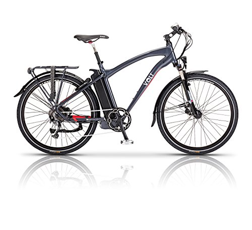 Volt Electric Bike - Pulse - Long Distance E Bike - Hybrid Bike Perfect for Road and Country Trails - Women and Mens Bike Available in Multiple Frame and Battery Sizes