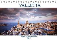 Valletta - Morbide Schoenheit im Mittelmeer (Tischkalender 2022 DIN A5 quer): Eine Reise Jahrhunderte zurueck. Valletta, Unesco Weltkulturerbe und Hauptstadt des wunderschoenen Inselstaates Malta (Monatskalender, 14 Seiten )
