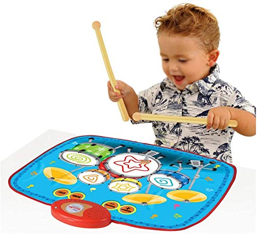 Game Blanket, Drum Drum Mini Early Onderwijs Muziek Blanket, puzzel Ouder-kind Toy Electronic Music Pad, kinderen kruipen mat Dance Mat 8bayfa
