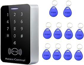 Baosity Waterdicht Toegangssysteem RFID-codeslot Deuropener Toegangscontrole met 10 Sleutelringen