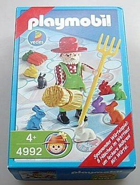 Playmobil 4992 Spannendes Würfelspiel mit Gärtner