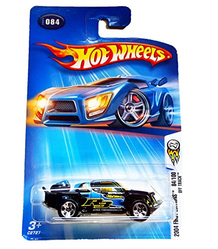 Hot Wheels 2004-084 First Editions BLACK Off Track 1:64 Scale