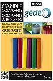 gedeo - Coloranti per Candele, in 6 Colori Diversi