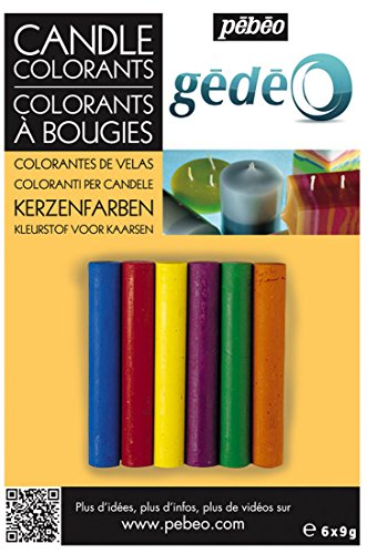 Gedeo - Colorantes de Velas 6 Colores