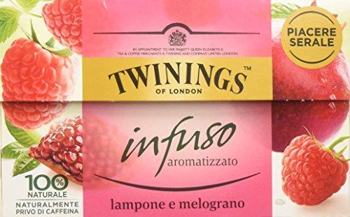 Twinings - Infusi Aromatizzati al Lampone e Melograno - Special Edition (20 Bustine)