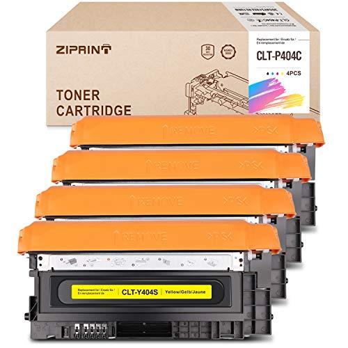 ZIPRINT clt-p404c Toner Kompatibel Samsung CLT-404C für Samsung Xpress C480w Xpress C480fw Xpress C430 Xpress C430w Xpress C480 Xpress C480fn Drucker