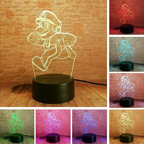 Lightlv Iluminación De Navidad De Interior 2019 Cartoon Running Super Mario Bros...