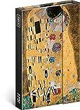 Agenda tascabile 2022 A6 – Agenda con chiusura magnetica – Agenda settimanale, calendario settimanale, copertina rigida, calendario settimanale (Gustav Klimt)