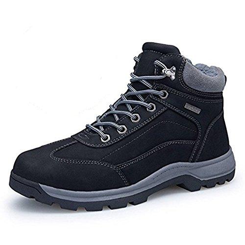 Hombre Botas de Invierno Calientes Botines Impermeables Calzado Outdoor Trekking Botas Senderismo
