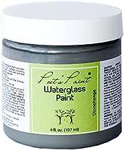 Poets Paint Waterglass Chalk Painted Finish 4 oz. Stonehenge