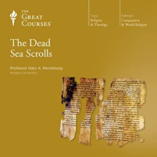 The Dead Sea Scrolls audiobook cover art