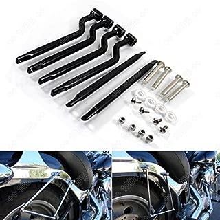 Universal Motorcycle Stainless Steel Refit Saddlebag Side Support Bar Bracket for Yamaha Honda Kawasaki Suzuki