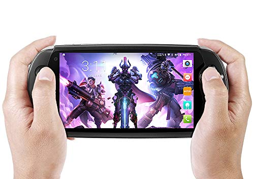 Moqi I7S Game Phone Tablet Handheld 6 Inches Touchscreen Video Game Console, Android 8.1 Qualcomm Snapdragon 710 8-Core Kryo 360 CPU,Adreno 616 GPU, 6GB RAM, 64GB ROM,Support Qualcomm APTX and QC 3.0