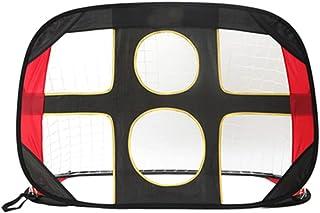 Football Gate, Football Goals Hockey Goal Soccer Net Foldable Football Net Goal Gate with Bag Foldable Lightweight for The...