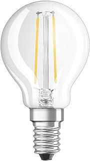 OSRAM  LED Retrofit CLASSIC P  Bombilla LED , Casquillo E14 , 2700 K , 2,50 W , Equivalente a 25W , mate , Blanco cálido