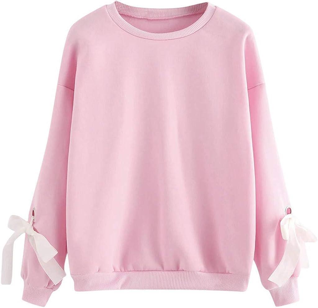F_Gotal Women's Long Sleeve Sweatshirts Department store S Ranking TOP11 Casual Girls Teen