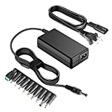 [UL Listed] HKY 12V 60W Universal Power Supply AC DC Adapter with 10 Selectable Adapter Plugs for LCD Monitor/LED Strip String Lights/YONGNUO Air LED Video Lights/iMAX B6 B5 LCD Monitor Power Cord