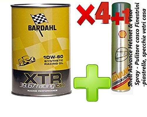 Bardahl XTR 39.67 Racing c60 10W-60 - Aceite para coche formulado para motores de coches de carreras o de elevada potencia