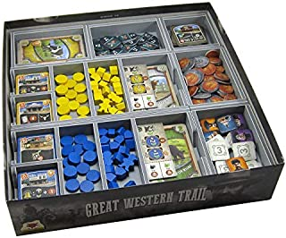 Folded Space Great Western Trail and Expansions Board Game Box Inserts