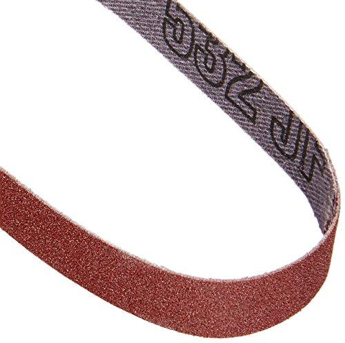 PROXXON 28581 Schleifbänder für BSL, Edelkorund, 5 Stück, Korn 180